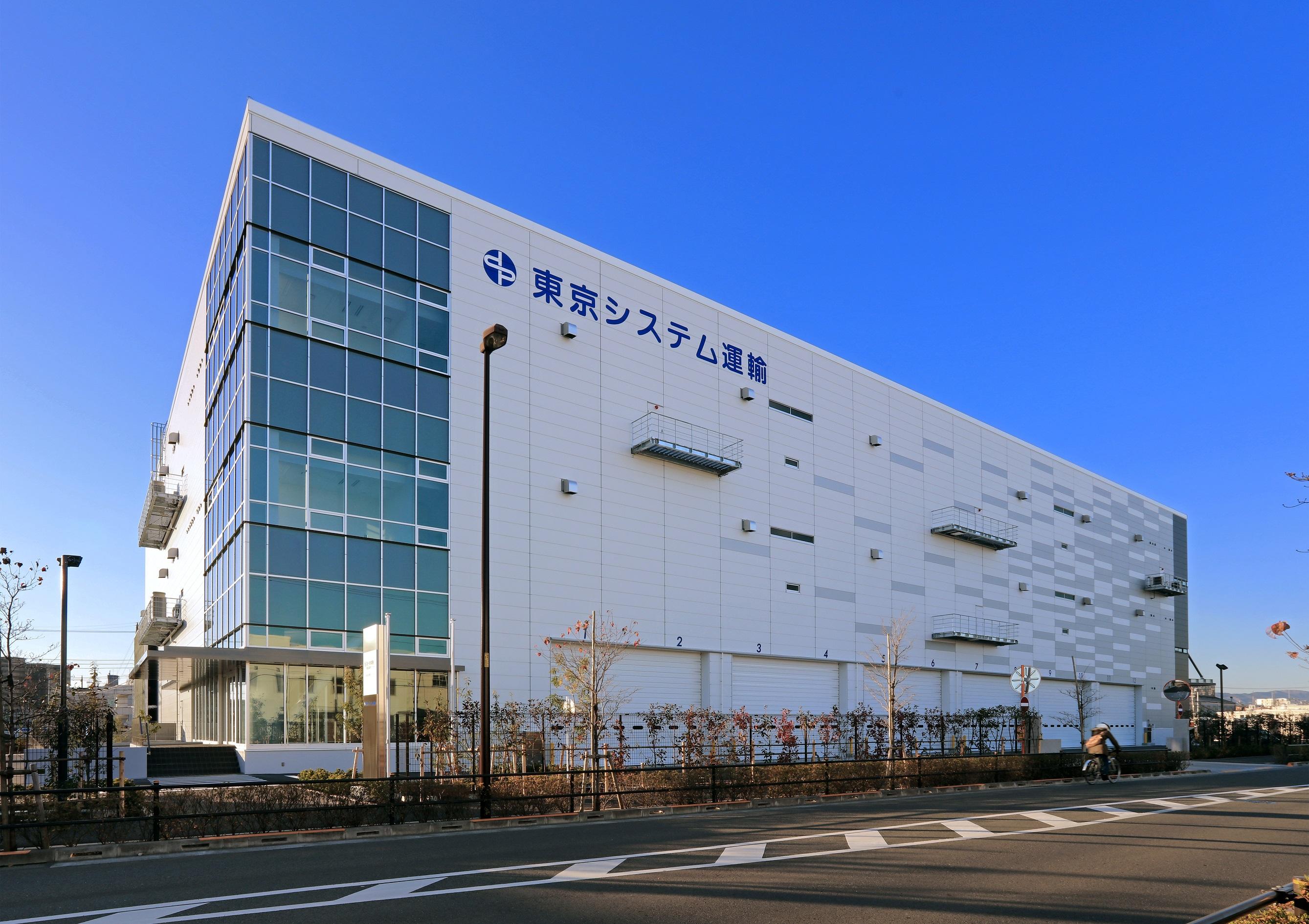 昭島物流倉庫が竣工しました!
