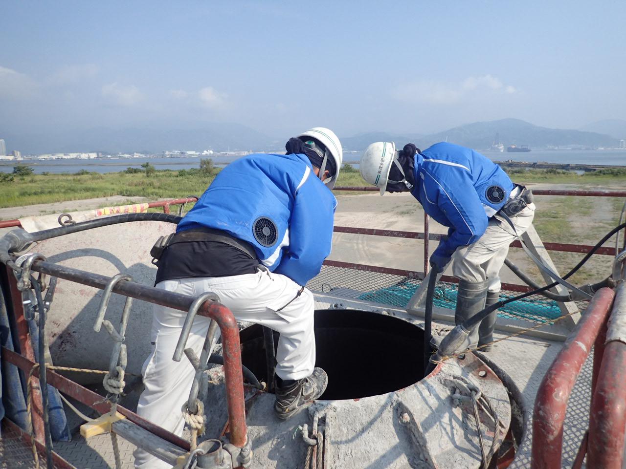 平成29年度 清水港外構防波堤(改良)消波工事(80t型 消波ブロック)