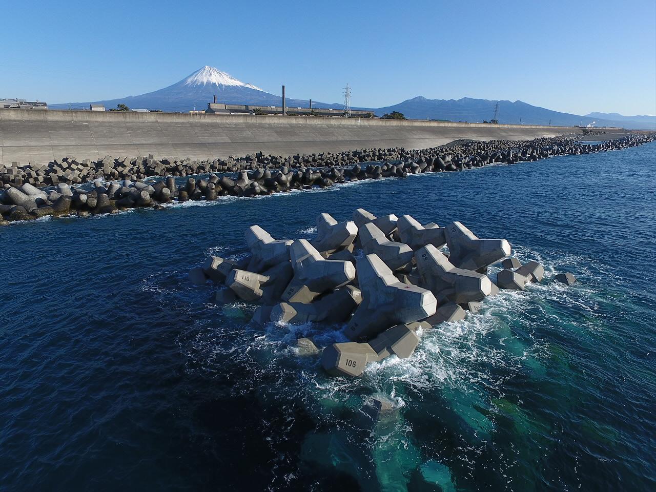 H29 富士海岸蒲原地区離岸堤工事