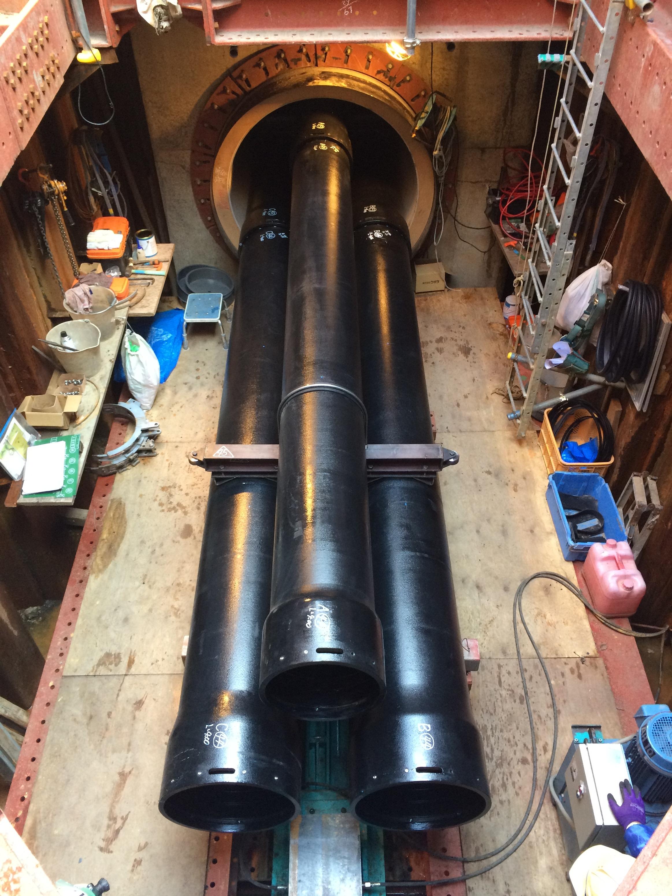 H27 水道管拡第2号 清水区柏尾送水管及び配水本管布設工事