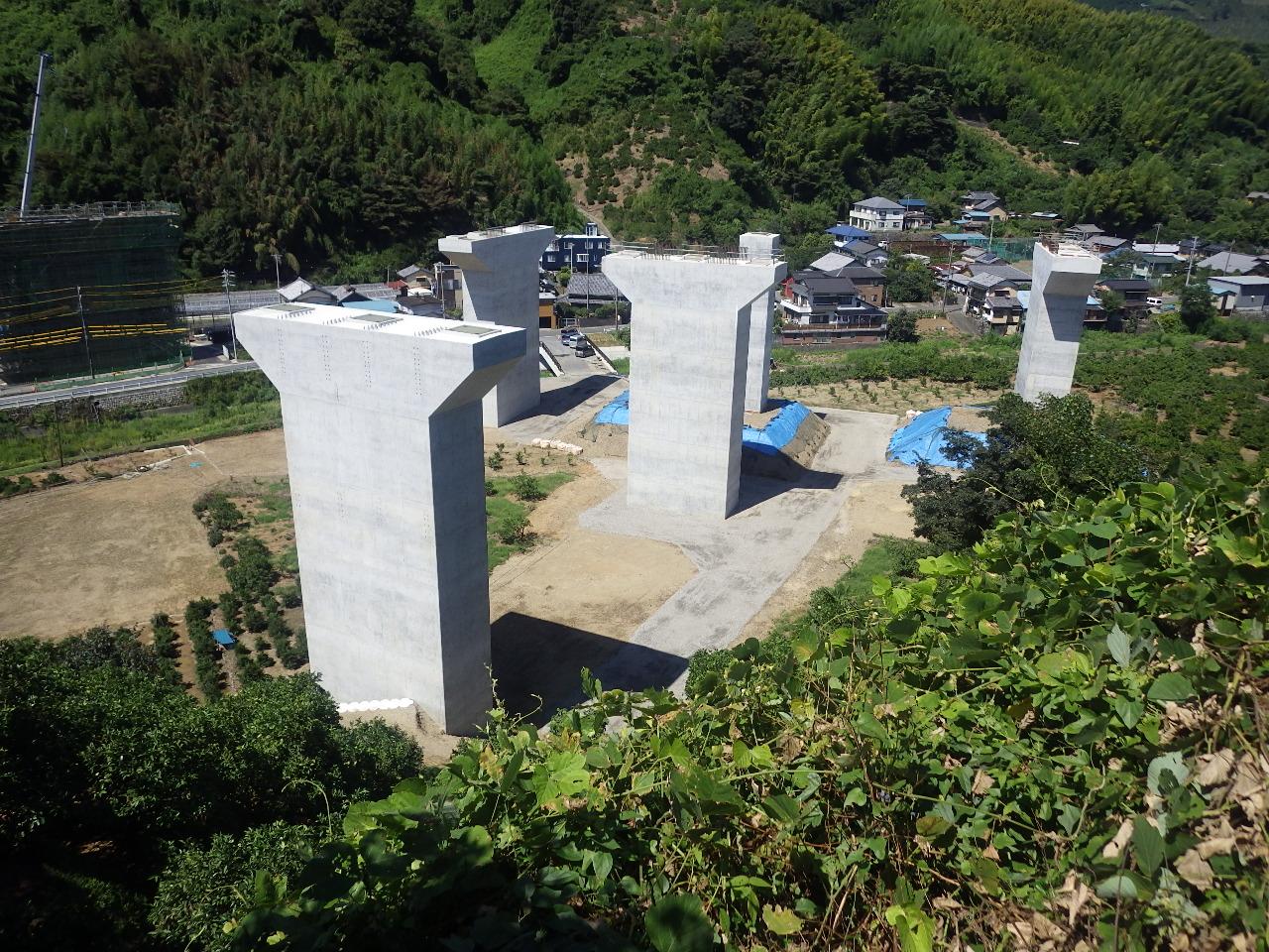 H26 伊佐布高架橋(庵原川左岸)下部工工事
