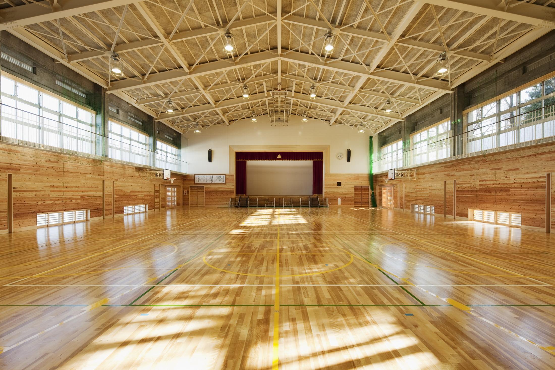 静岡市立清水有度第二小学校 体育館