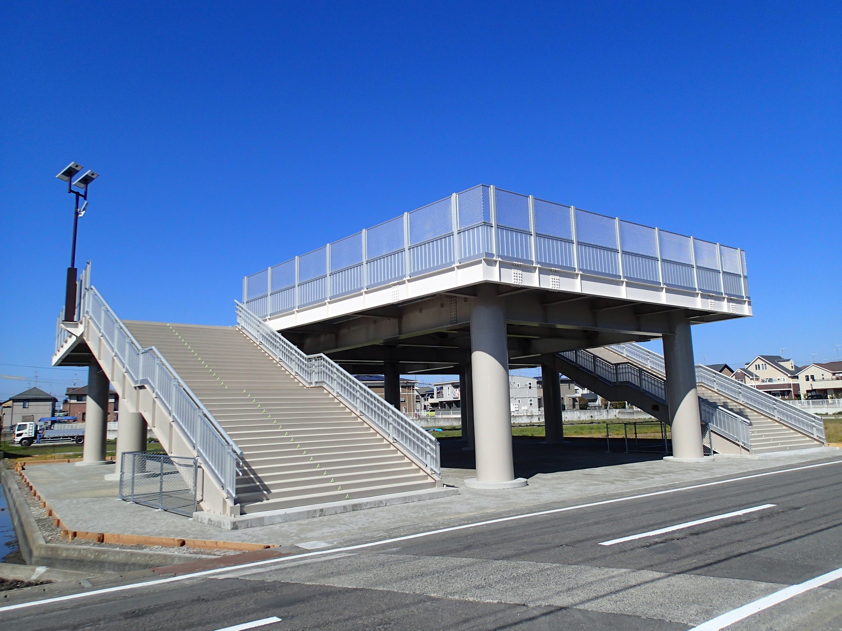 H24 津波避難タワー設置工事