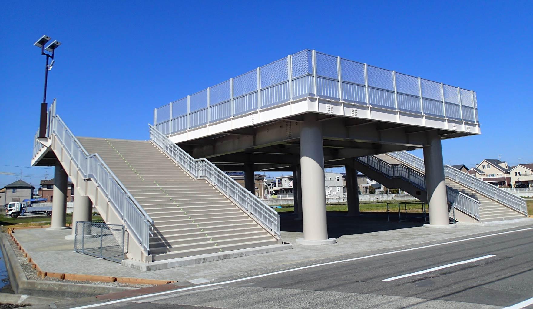 静岡県吉田町 津波避難タワーM