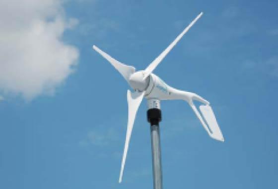 風力発電システム〔屋上〕
